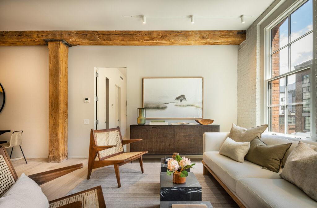 Virtual Tour of Rebecca Robertson Designed Brick & Timber Model Residence