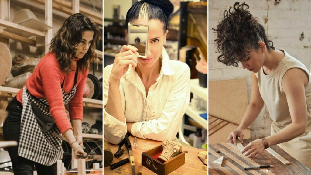 The Future is Female furniture design