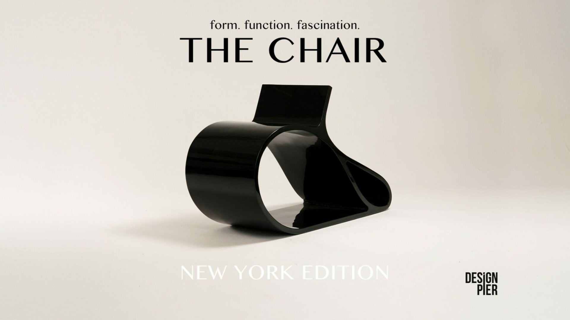 Design Pier / THE CHAIR: form, function, fascination